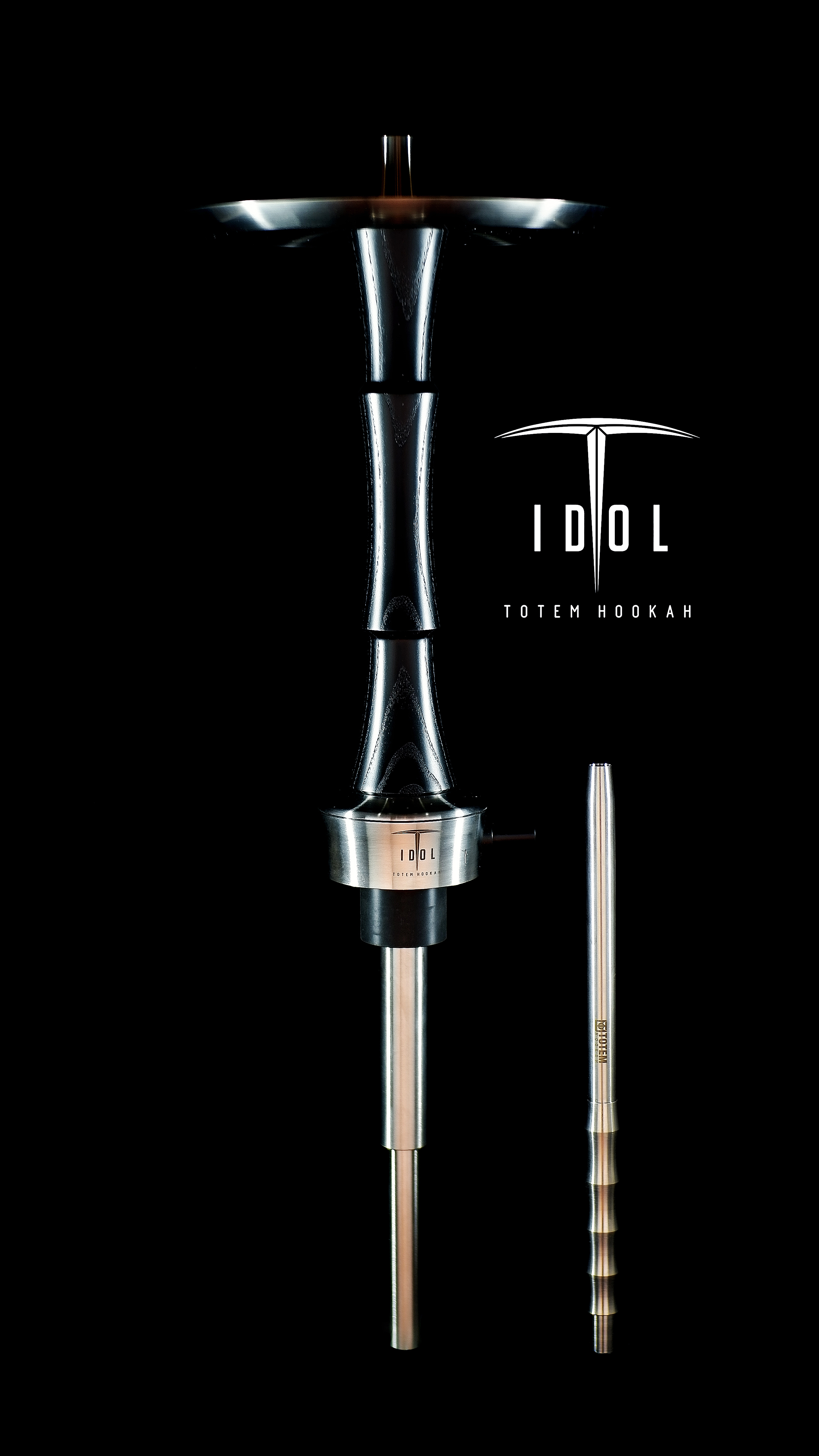 Totem Hookah Idol Full Black